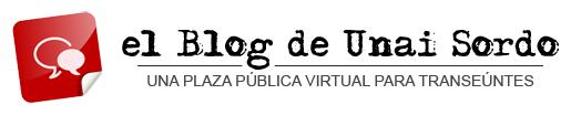 el Blog de Unai Sordo
