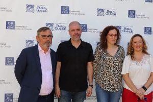 Entrevista en la Universidad Pablo de Olavide